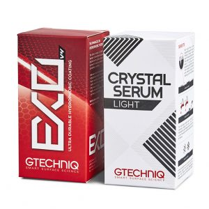GTECHNIQ EXO + Crystal Serum Light 套裝
